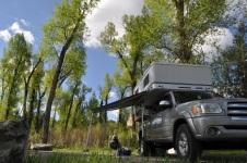 Birch Creek campground near SF Snake River, Idaho