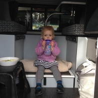 a snack in the camper, yes please!