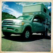 the 'set-up' (2006 Toyota Tundra with Hawk)