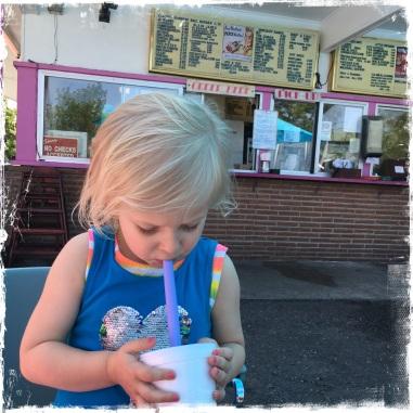 Milkshake from Westside Drive-In