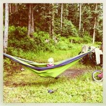 Cool cat, hammock time