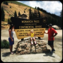 Monarch Pass on the Continental Divide, what a drive!
