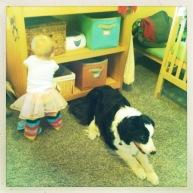 Jasper the babysitter