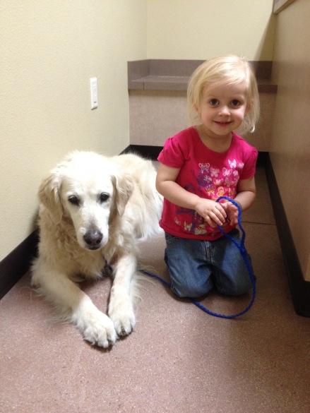 Taking Jade to the vet.