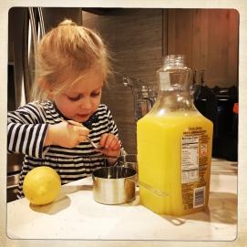 Remove lemon seeds