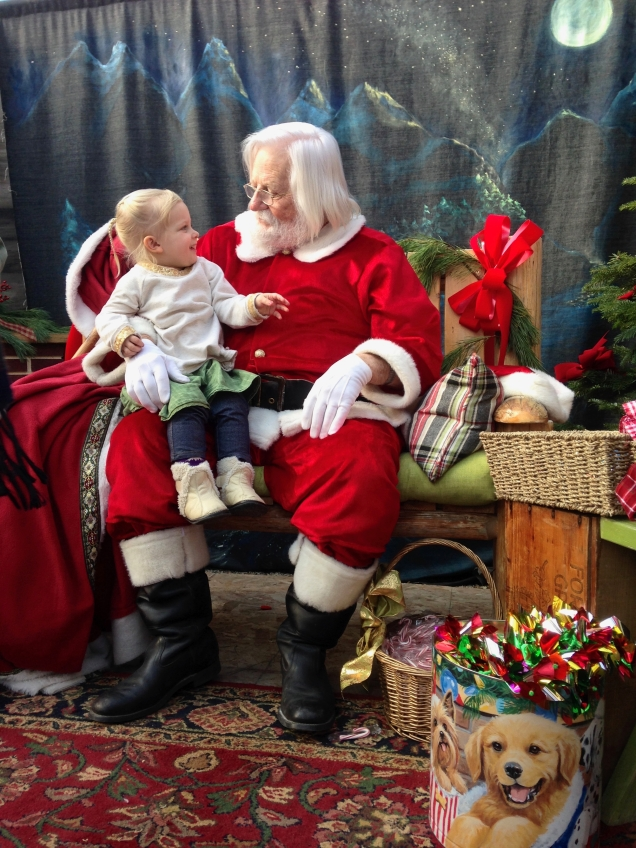 Still loving Santa