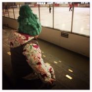 Still into ice skating.