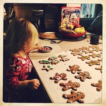 Still making cookies...