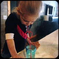Every drink is better with heart straws.