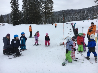 Roots Forest School Ski Day