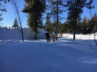 Walking on (frozen) water.