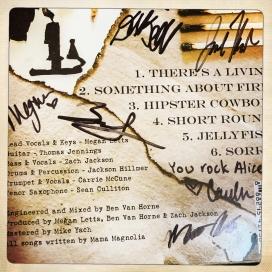 Autographed CD!