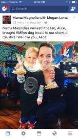 Mama Magnolia's fb post!