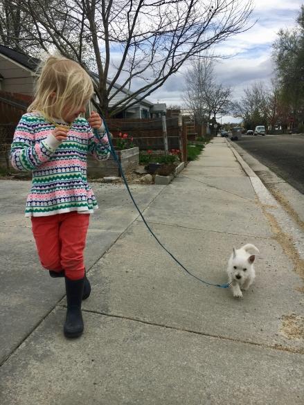 Walking baby Wyatt