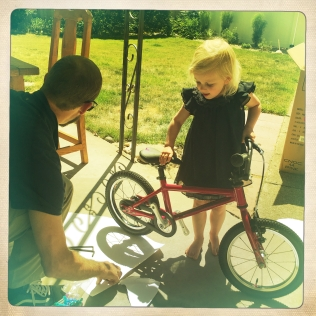 big girl bike