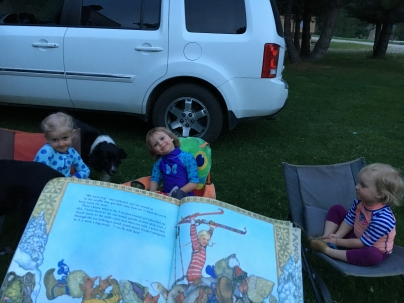 camp storytime
