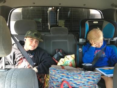 Backseat riders