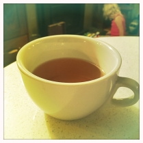 Peppermint Cinnamon Tea, thanks Kenya!