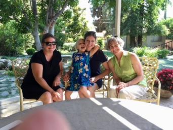 Molly, Alice, me, Grammie