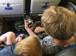 screen time with grammie